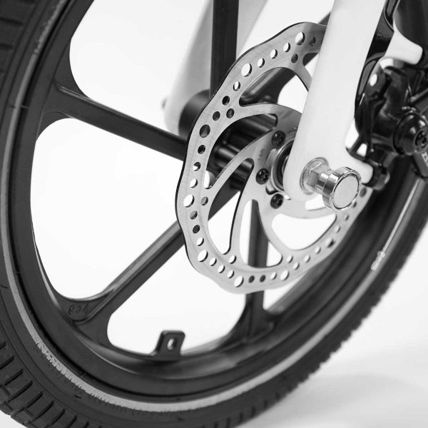 folding electric bike wheel