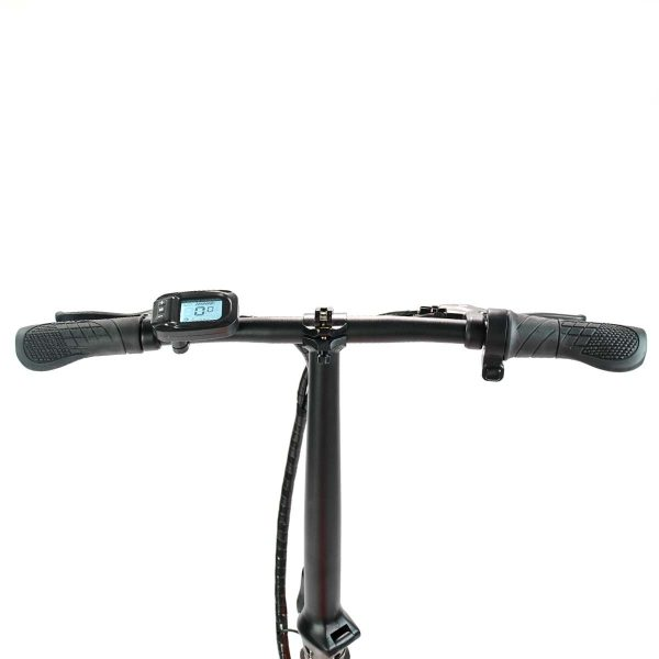 folding electric bike handlebars