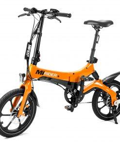 2020 Orange MiRiDER One folding ebike