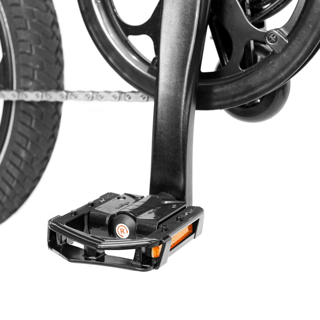 MiRiDER One folding metal Wellgo pedals