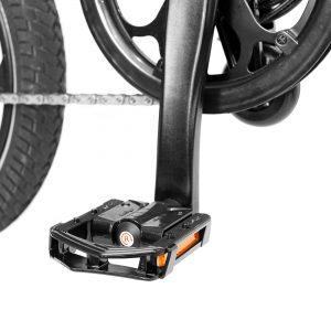 MiRiDER One folding metal Wellgo pedals