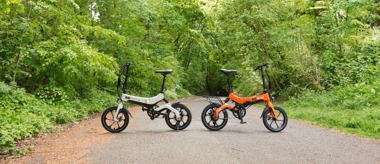 MiRiDER best folding e-bikes 2020